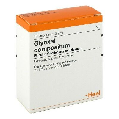 HEEL Glyoxal Compositum 10 Amps Homeopathic Remedies