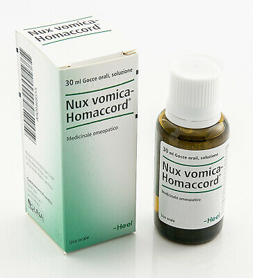 HEEL Nux Vomica Homaccord 30ml Homeopathic Remedies