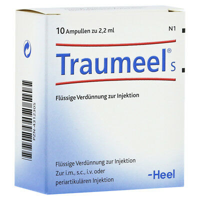 HEEL Traumeel S 10 Amps (2.2ml) Homeopathic Remedies