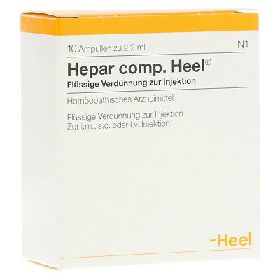 HEEL Hepar Compositum 10 Amps (English) Homeopathic Remedies