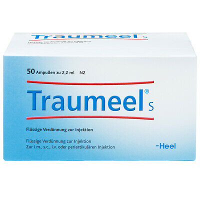 HEEL Traumeel S 2.2ml 50 Amps Homeopathic Remedies
