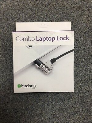 MACLOCKS Combo Laptop Lock