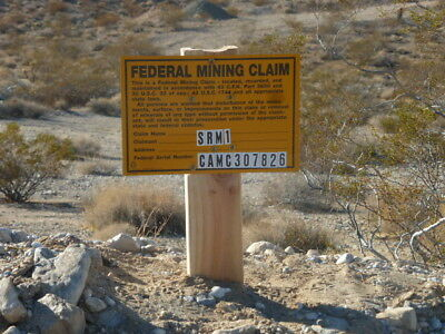 """Silver Reef Mining Claim  """"SRM-1"""" 20 acres located in Lucerne Valley, Ca"""
