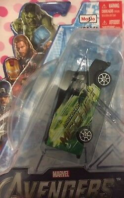 loki die-cast car toy marvel the avengers maisto