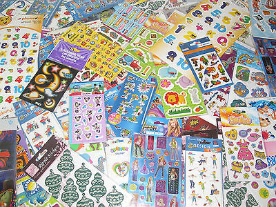 LXSTI097 PLANCHE STICKERS THEME ANGES NEUF