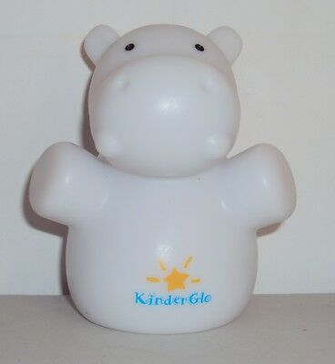 Kinderglo Portable Fun Safe Night Lights HIPPO Baby Kids Room LIGHT ONLY