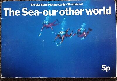 Brooke Bond - The Sea - Our Other World -Full Set of 50 In Album GOOD CONDITION