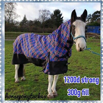 Sale To Clear 100G Fill Combo Or No Neck  Medium / Lightweight Turnout Rug
