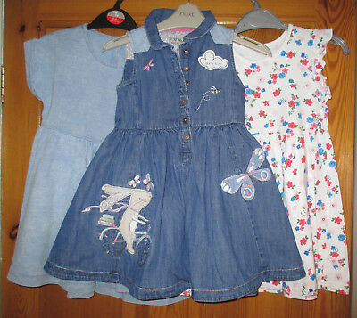 Girls Dresses(3 Items)  Age 3-4 Years.  From Next.