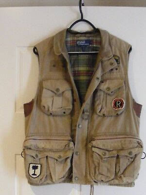 Polo Ralph Lauren Fly Fishing Hunting photography vest size S