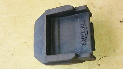 TRIUMPH TIGER 800 / 800 XC blanking plate for the electrics of the top box