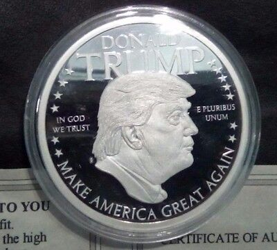 American Mint Speeches of Donald Trump Silver plated
