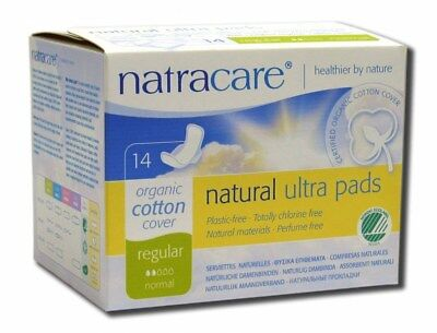 Natracare Natural Feminine Ultra Pads Regular with Wings - 14 Pads