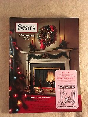 1967 Sears Christmas Catalog Excellent Condition Wish Book