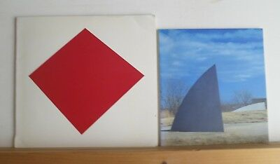 Ellsworth Kelly Lot of 2 Exhibition Catalogs 1981 & 1986 Art Painting Minimalism