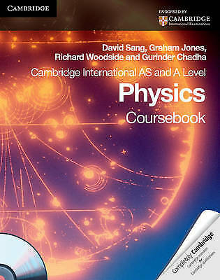 Physics Cambridge International AS Level and A Level Physics Coursebook + CD-ROM