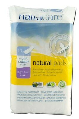 Natracare Natural Pads Organic - 10 Pads