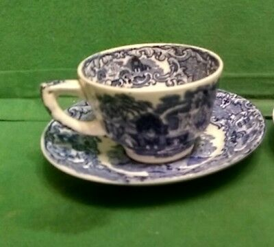 Vintage George Jones Abbey Ware Cup and Saucer
