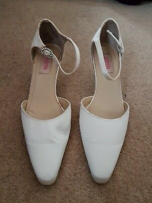 pink by paradox wedding shoes size 5
