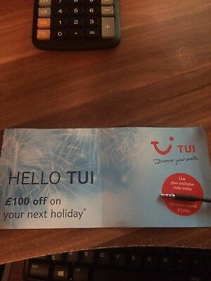£100 Of Tui Holiday Voucher