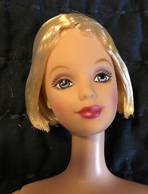 SHAKIRA OOAK Limited Edition NUDE  Barbie Doll Lea Face Mold UNBOXED
