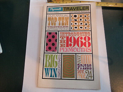 Booklet, Introducing the 1968 Plymouths Traveler   great advertisements