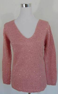 Nwt Joe Fresh Pink Women's Sweater Size S/p           A2528