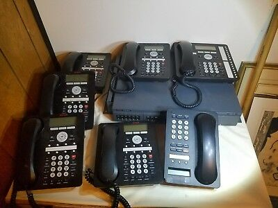 Avaya IP Office 500 V2 Business Phone System with Five 1408 Phones one 1416 1403
