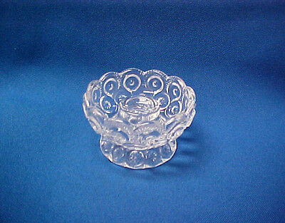Moon & Star Miniature Crystal Candle Holder Nappy- Weishar