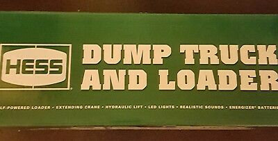 2017 Hess Dump Truck and LoaderNEW IN BOX