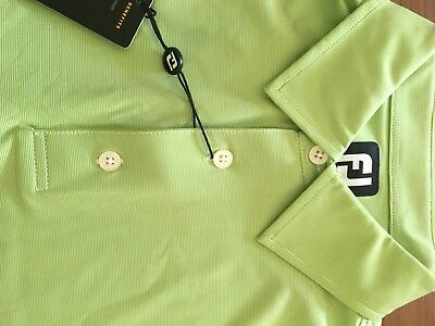 New With Tags. Golf Clothing FJ Footjoy Polo Shirt Mens Large. Christmas Gift