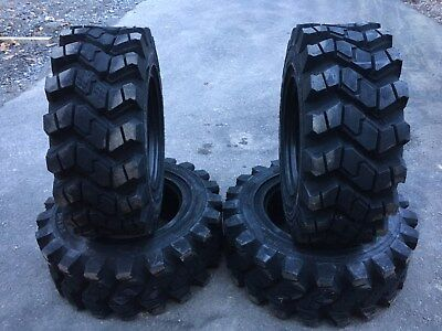 4 HD Camso SKS753 12-16.5 Skid Steer Tires for Case, Caterpillar - 12X16.5