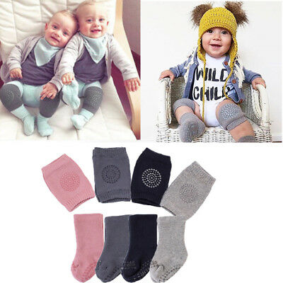 Safety Baby Knee Pads Crawling Elbow Kneecap Protector elbow Legs Socks Sets