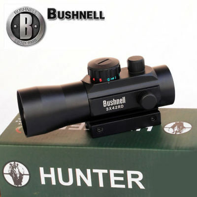 Bushnell 3x42RD Holographic Red/Green Cross Dot Sight Rifle Laser Scope