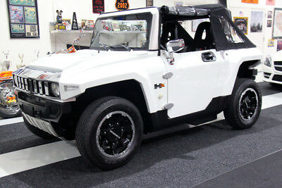 Only 73 Miles 2013 Mev Hx-T Hummer H2 Electric Vehicle/golf Cart, Rear Seat,