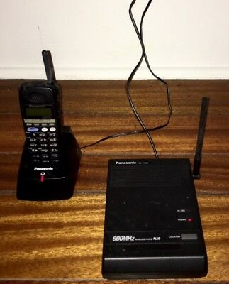 Panasonic KX-T7885 900MHz Wireless Phone with Base & Handset and 2 Chargers AC