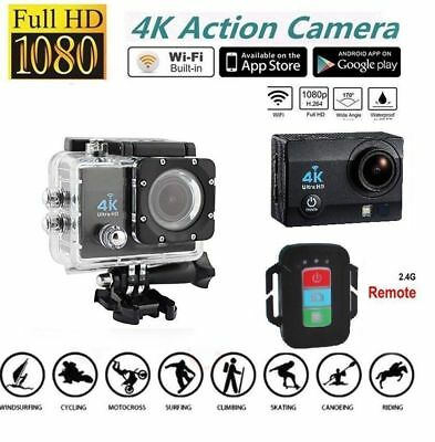 Original HDKing Ultra HD 4K WIFI Sports Action Camera Waterproof DV 14MP NEW
