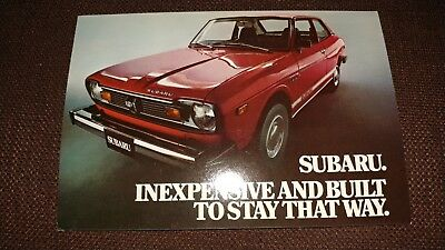 Subaru inexpensive and built to stay that way postcard