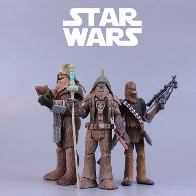"""Star Wars The Black Series Chewbacca The Force Awakens epVII 3.75"""" Action Figure"""
