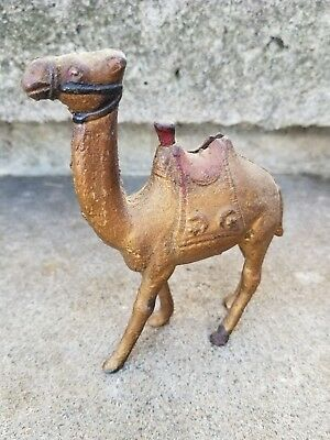 Antique Cast Iron Camel Still Bank A.C. Williams American Classic 1920's Vintage