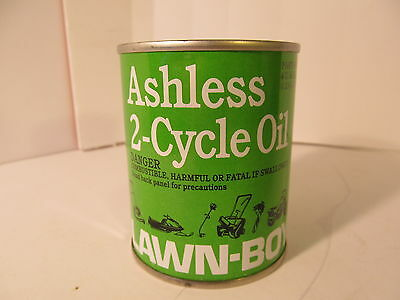 LAWN BOY HANDY OIL CAN sealed, Old, with oil, Dusty