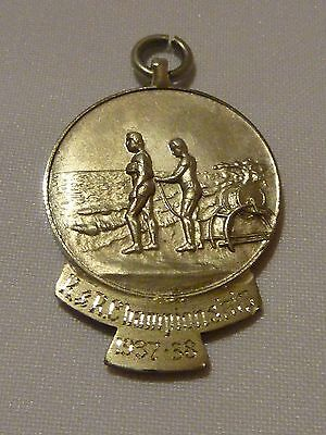 Vintage solid silver WA State Centre Surf Life Saving R&R Championship medal