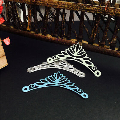frame angle cutting dies stencil for diy scrapbooking embossing album card  ^