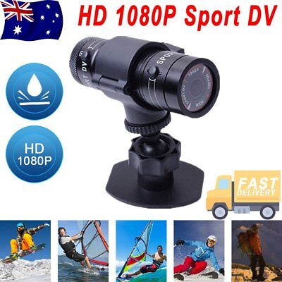 Waterproof 1080P HD Helmet Action Camera Sports Cam Video Bicycle Recorder DV