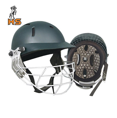 NEW HS SPORTS 5 STAR Cricket Helmet Good Mens Head Protection Adjustable Strap