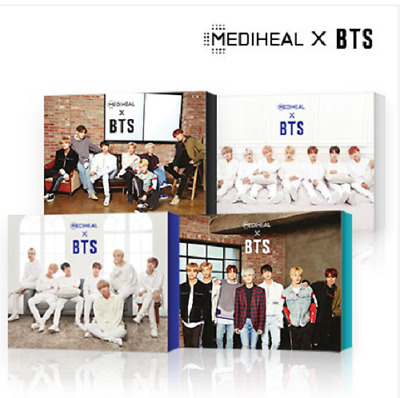 [BTS] BTS x Mediheal Special Face Mask Set and BTS Photo Card 14ea with Tracking