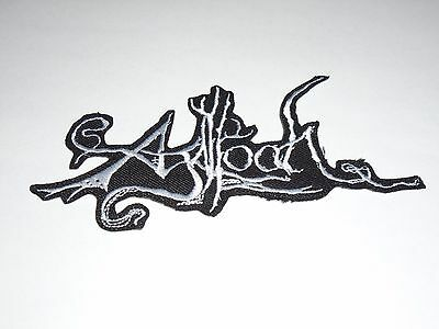Agalloch Iron On Embroidered Patch