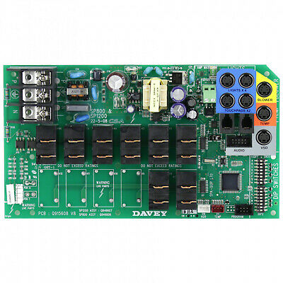 Davey Spa Power SP800 PCB - Q846606SP