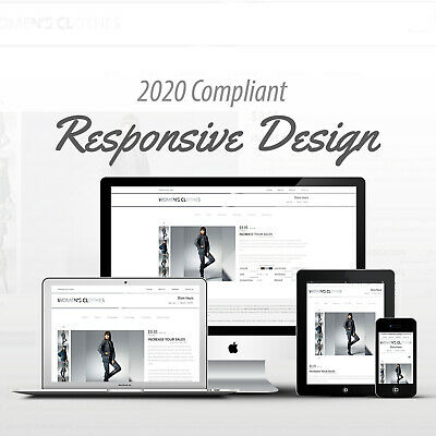 2018 Compliant Mobile Responsive Ebay Auction Listing Template Womens Clothes