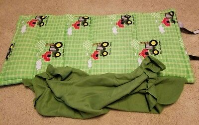 John Deere Toddler Size Unique Sleeping Mat Built In Pillow Attached Blanket